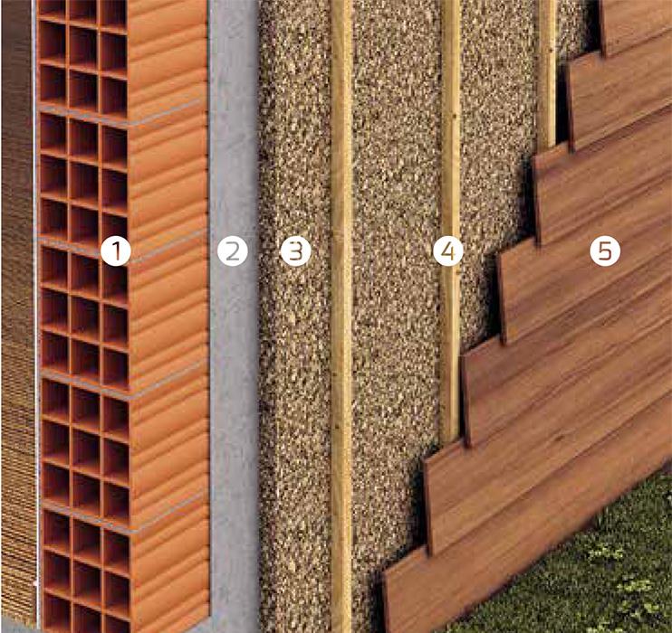 Paredes exteriores decocork - Aislamiento paredes exteriores ...