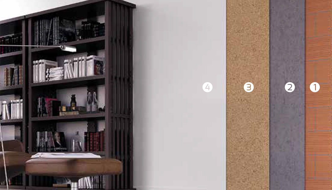 Paredes interiores decocork - Placas de corcho para paredes ...