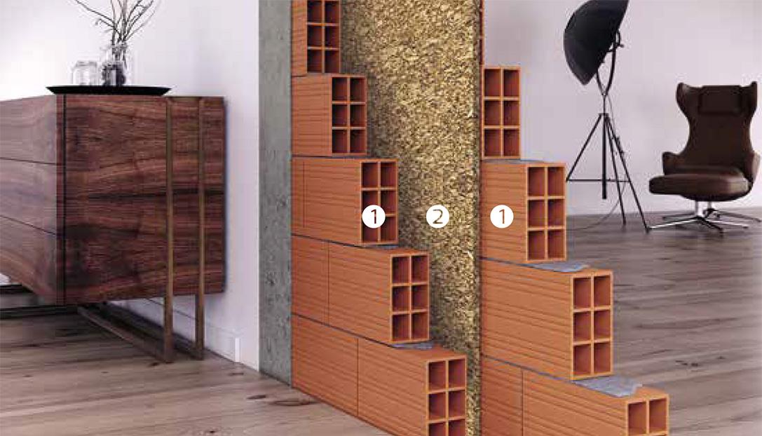Paredes interiores decocork - Aislamiento paredes exteriores ...