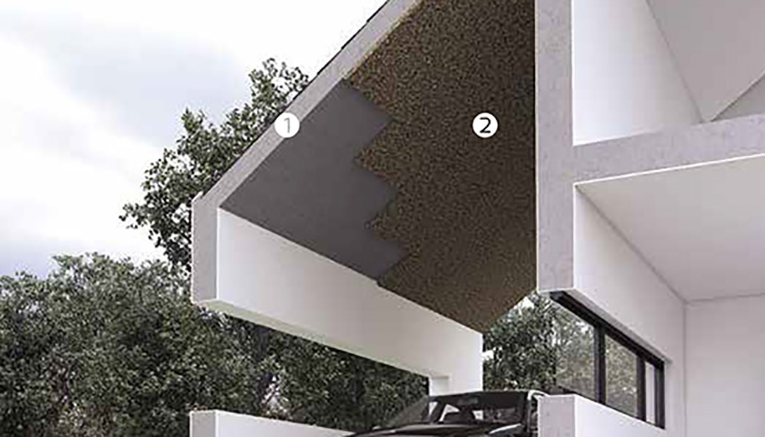 Cubiertas decocork for Placas de corcho para paredes